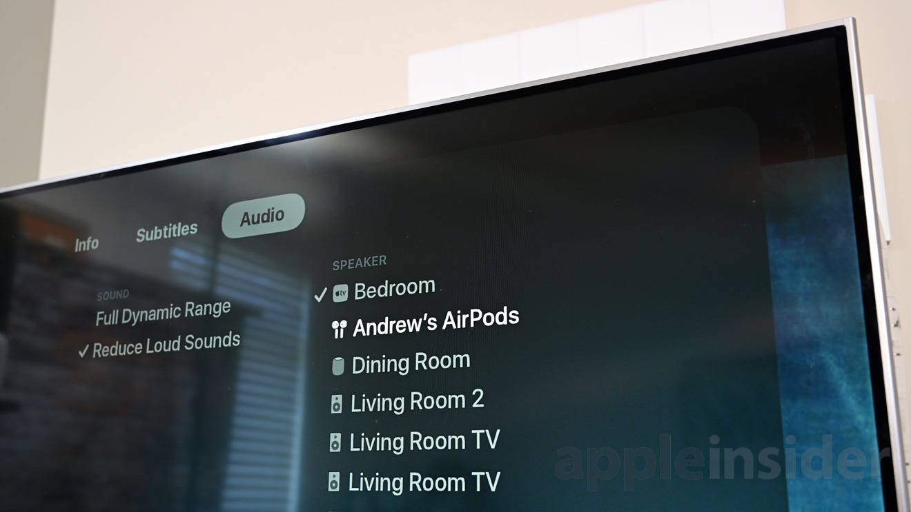 AirPods and AirPlay on the Apple TV 4K