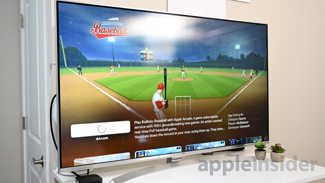 Apple Arcade on Apple TV