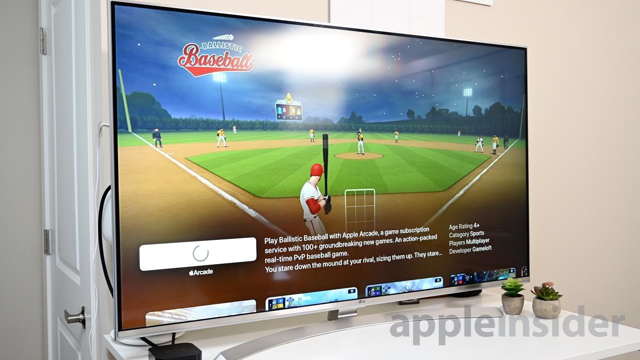 Apple Arcade on Apple TV