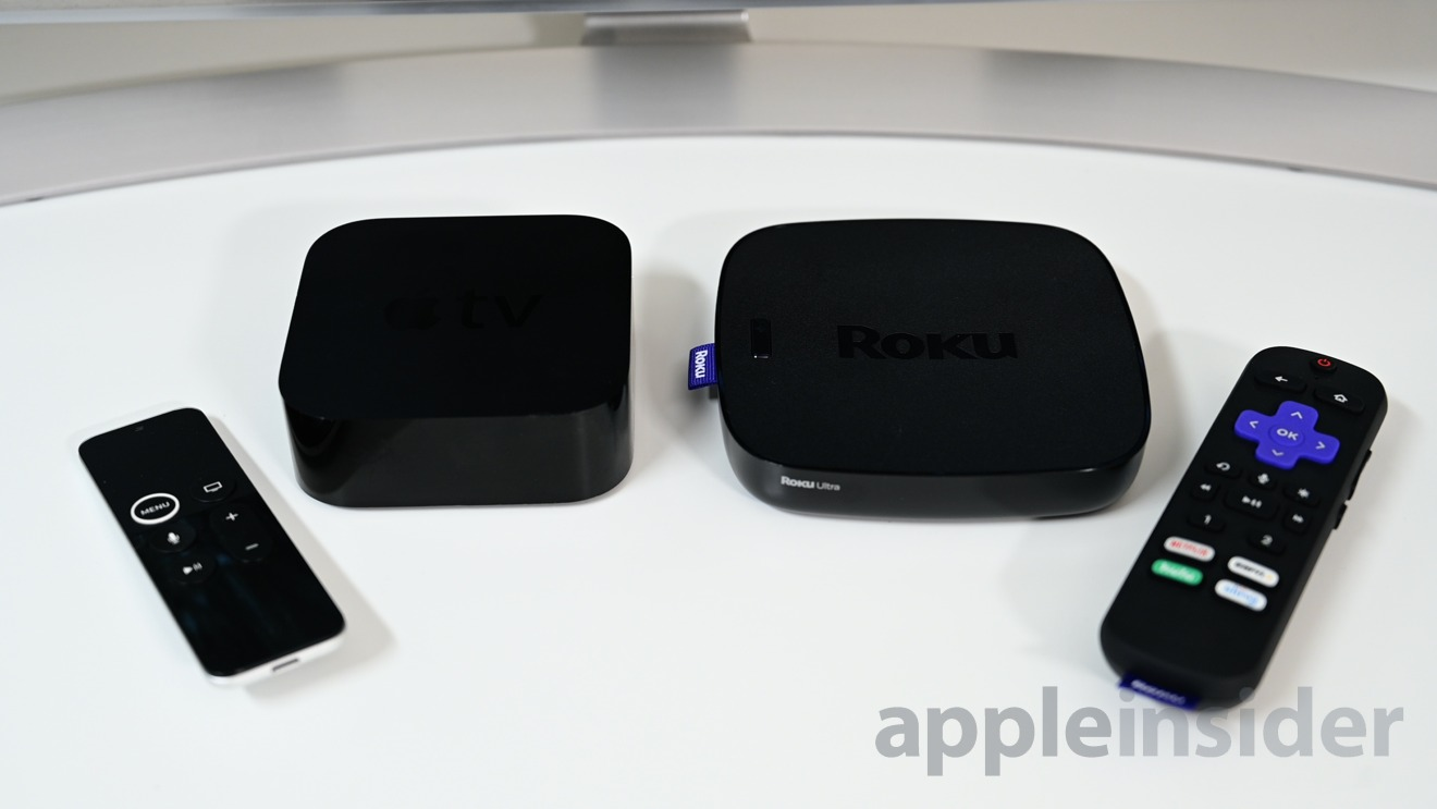 Apple TV vs. Roku -- comparing the two best 4K set-top streamers