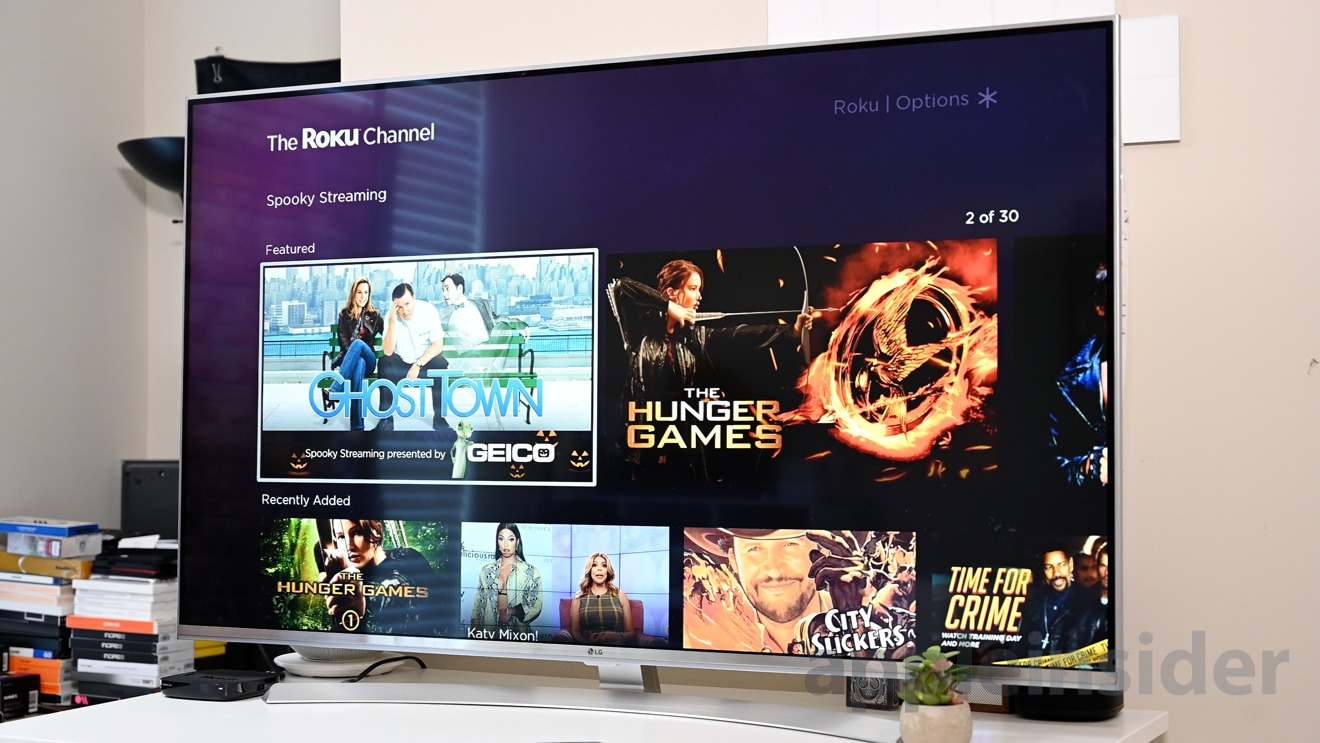 The ad-supported Roku Channel