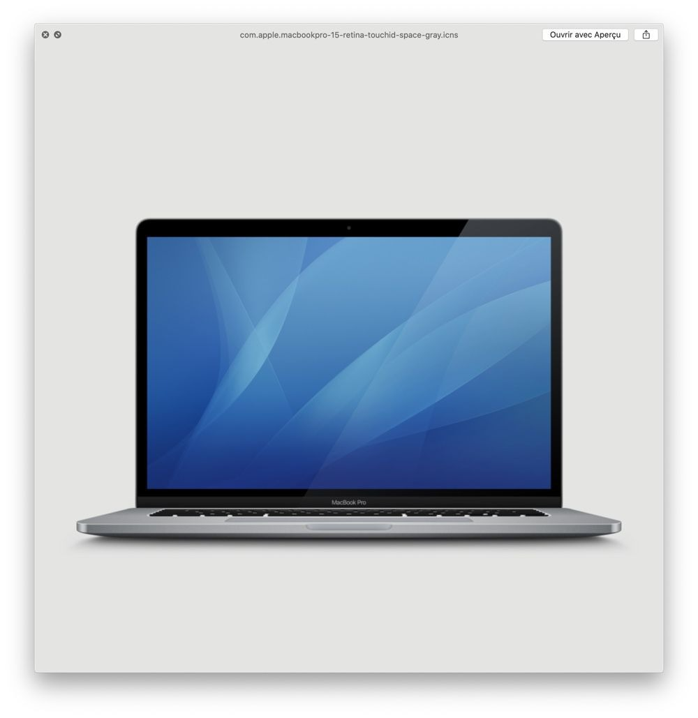 15-inch MacBook Pro in macOS Catalina 10.15.1 beta 2