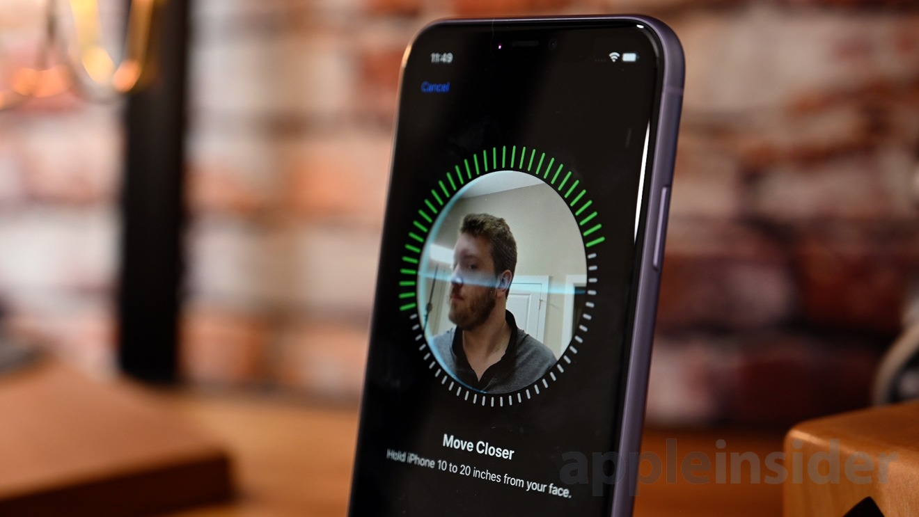 Setting up Face ID