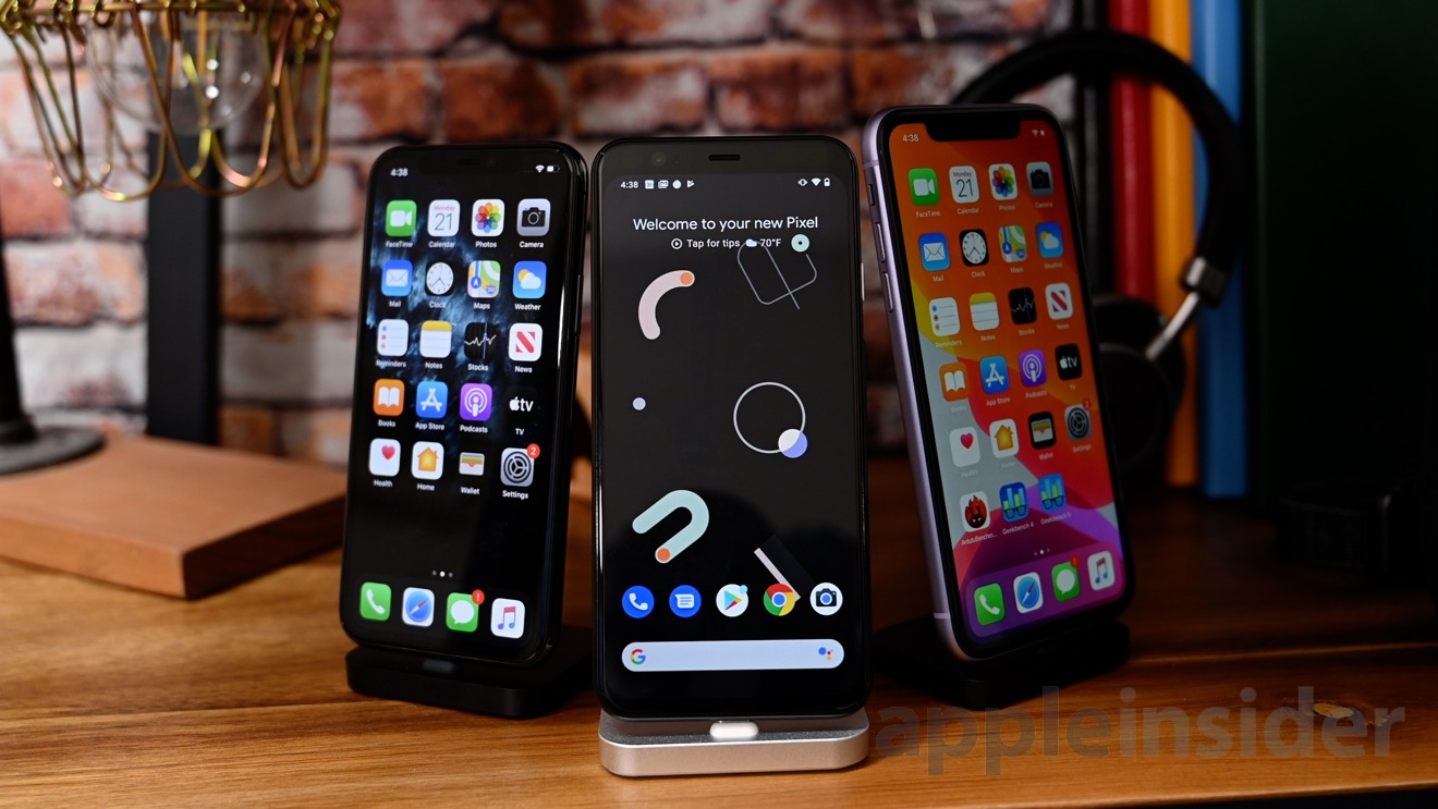 iPhone 11 versus Pixel 4 -- Benchmark and hands on comparison