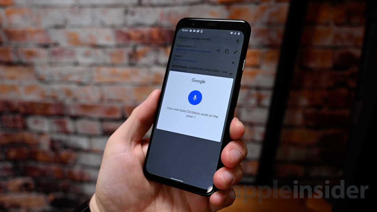 Google Assistant can transcribe locally