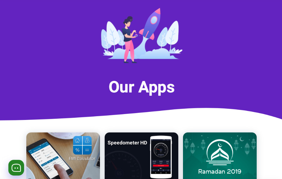 The official site of AppAspect Technologies, some of whose apps have been removed