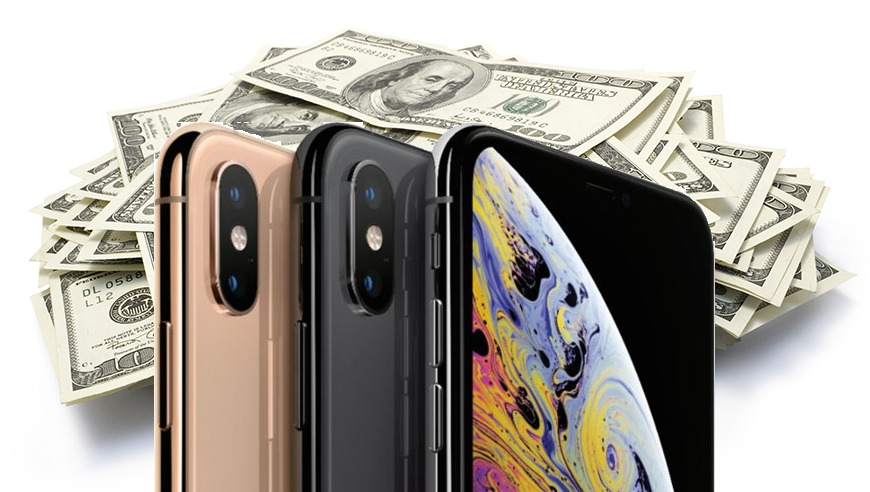 Apple trade in cash on iPhone