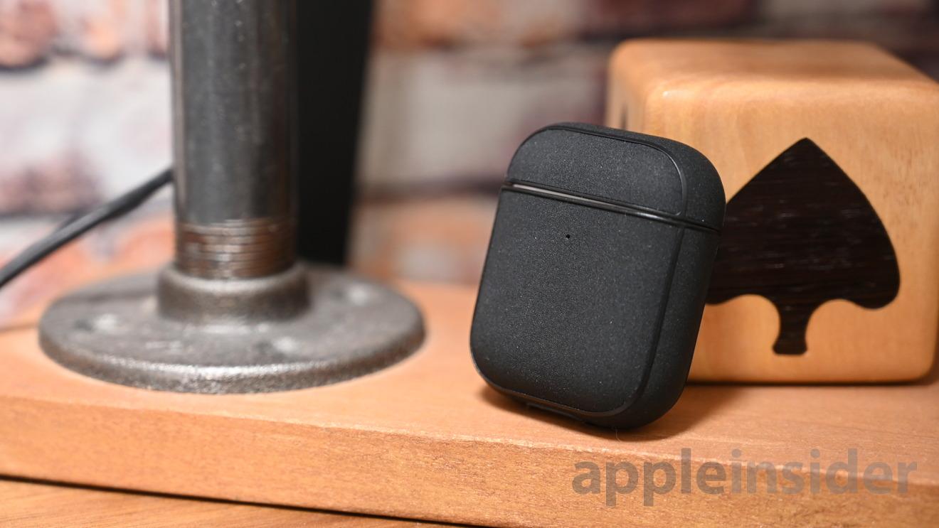 Black metallic AirPods case
