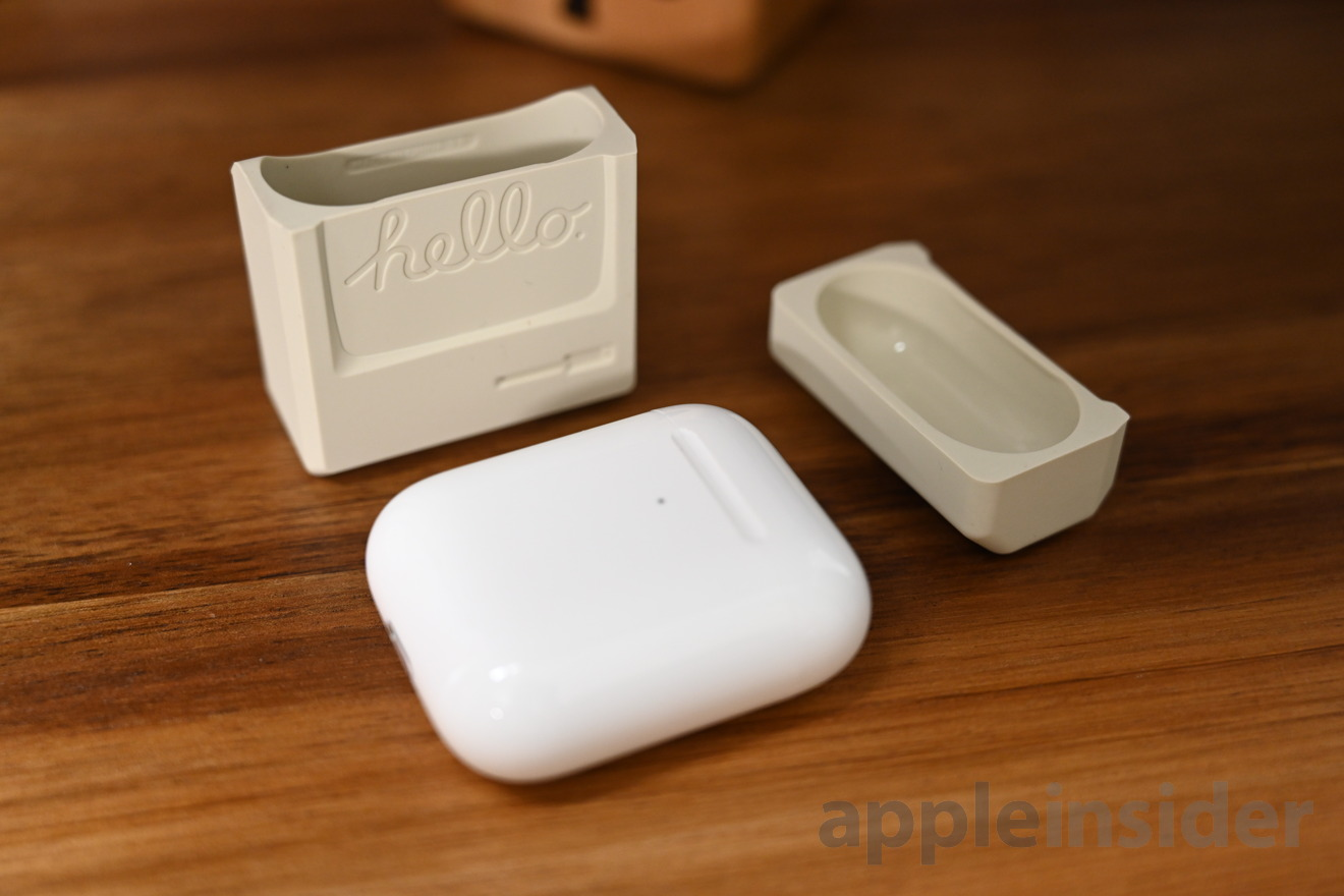 Elago AW3 AirPods case comes in two pieces