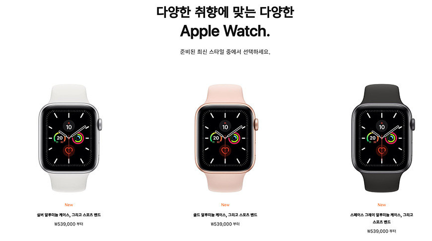 Korea, Thailand, and Brazil can now buy the Apple Watch Series 5