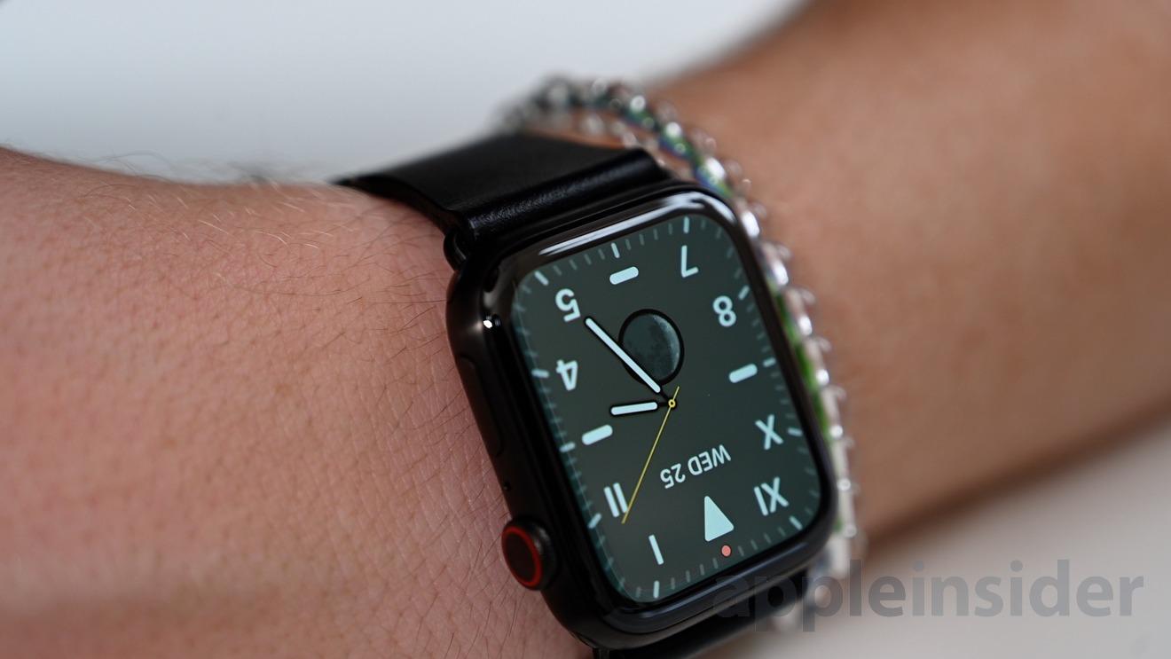 Apple Watch Series 5 Always-On display