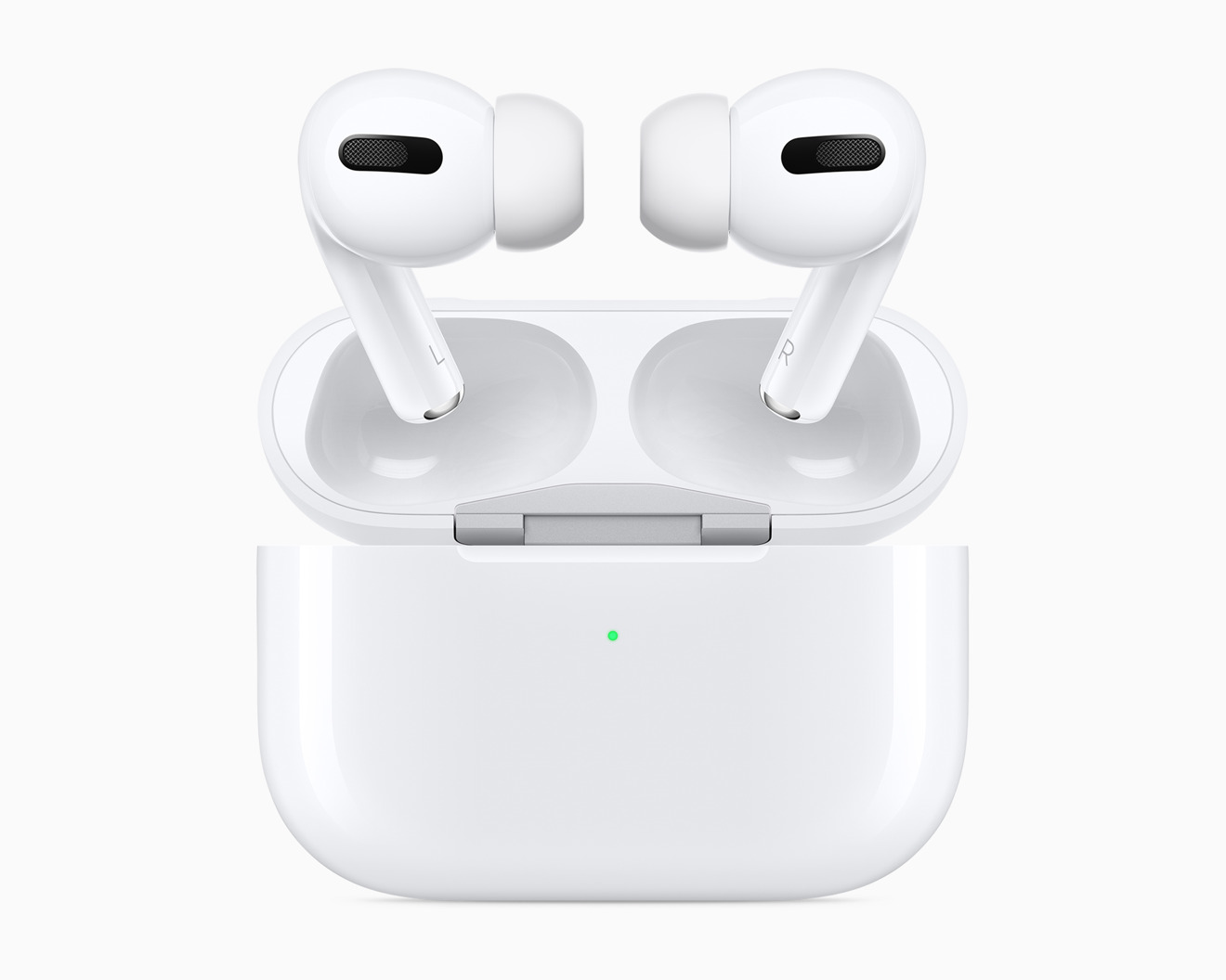 The AirPods Pro in the new Wireless Charging Case