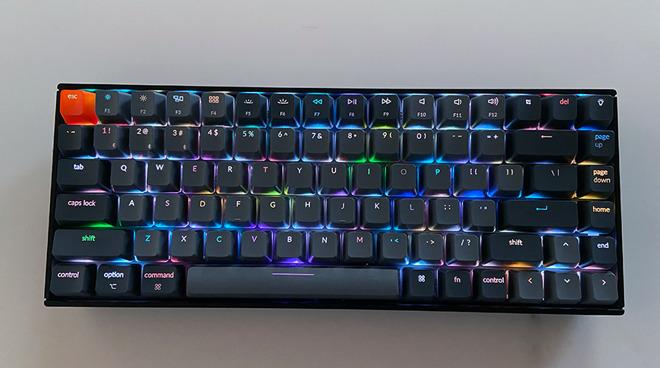 Keychron K2 lighting effects