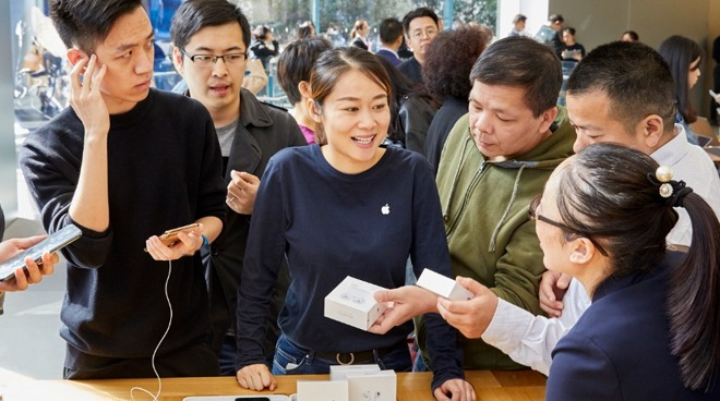 AirPods Pro go on sale in Apple Stores in Shanghai