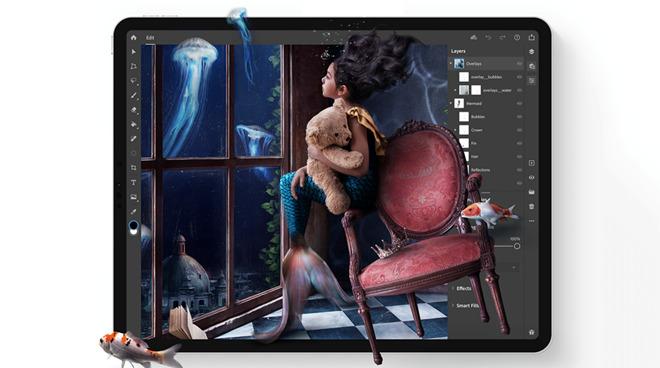 Adobe Photoshop on the iPad