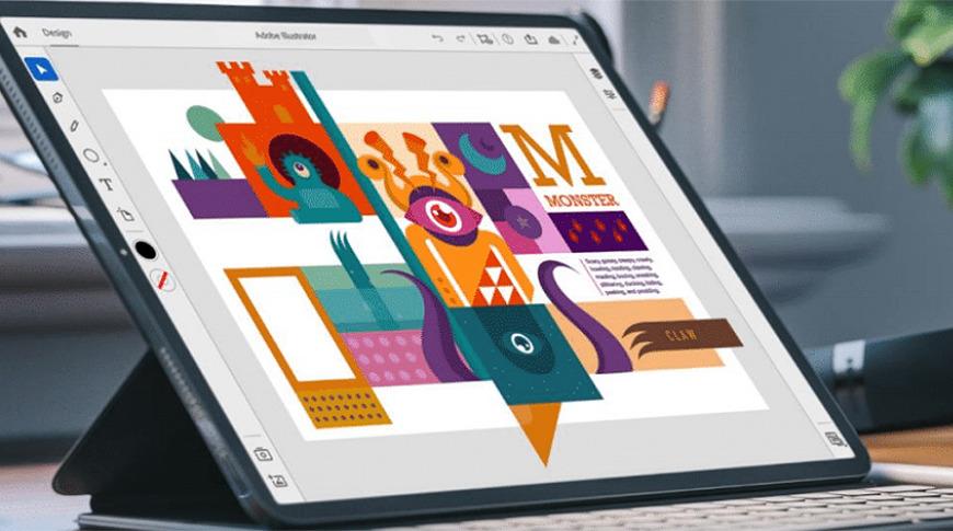 Illustrator on the iPad