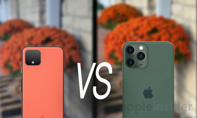 iPhone 11 Pro VS Pixel 4