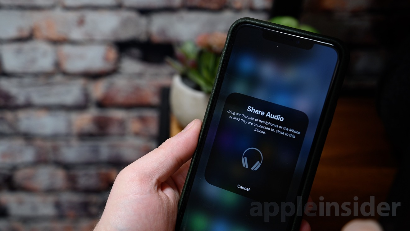 Audio Sharing on iOS 13.2 works with AirPods and Beats headphones