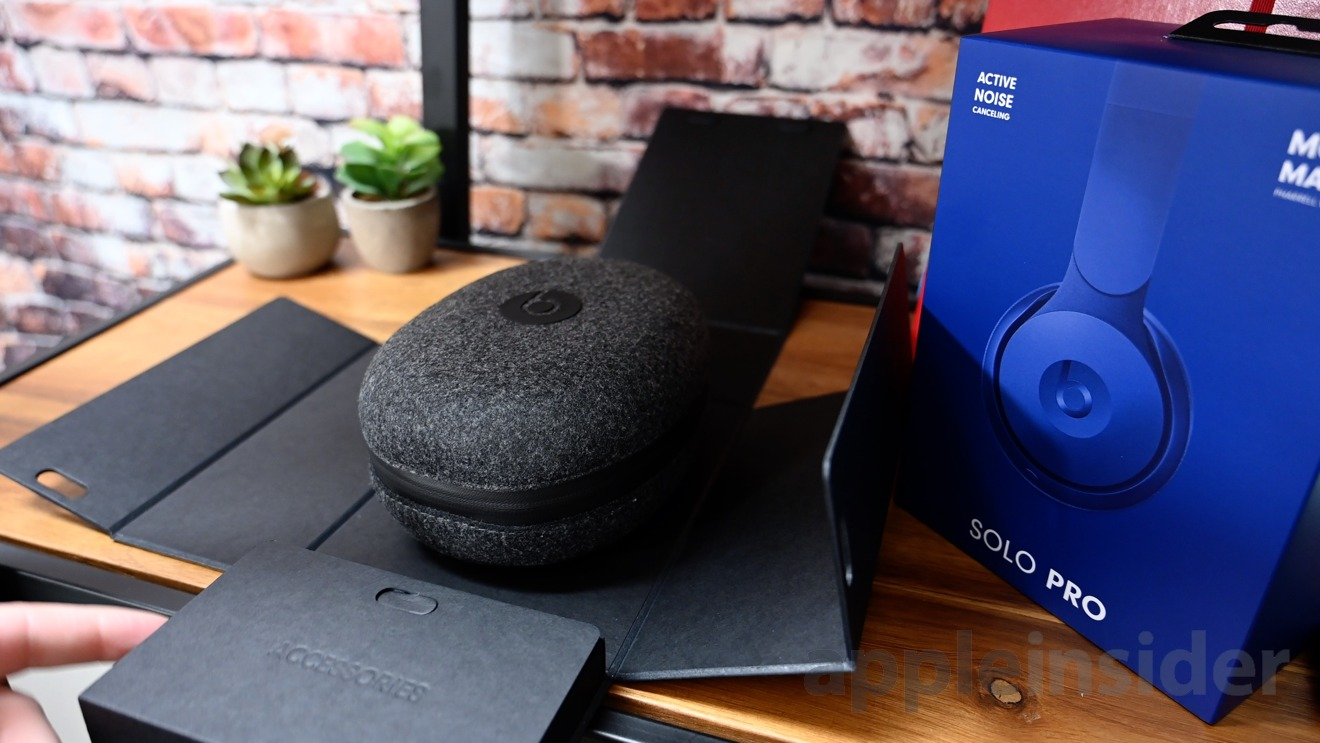 Unboxing the Beats Solo Pro ANC headphones is wonderful