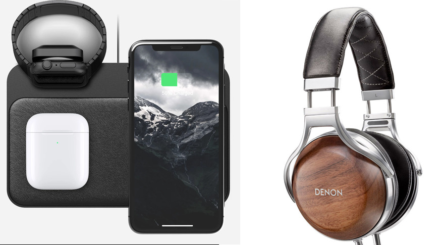 Accessory bonanza: 20% off Nomad iPhone cases, wireless chargers; $300 off Denon headphones