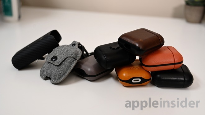 Several of the best cases for AirPods