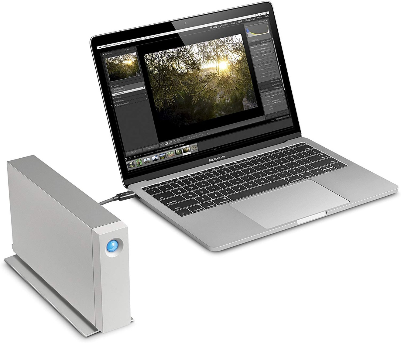 LaCie d2 Thunderbolt 3 USB-C Drive