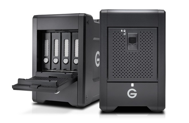 Western Digital's G-Speed Shuttle storage devices with multiple drive bays