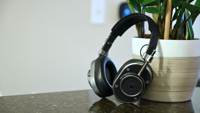 The newly released MH40 Master & Dynamic wireless headphones