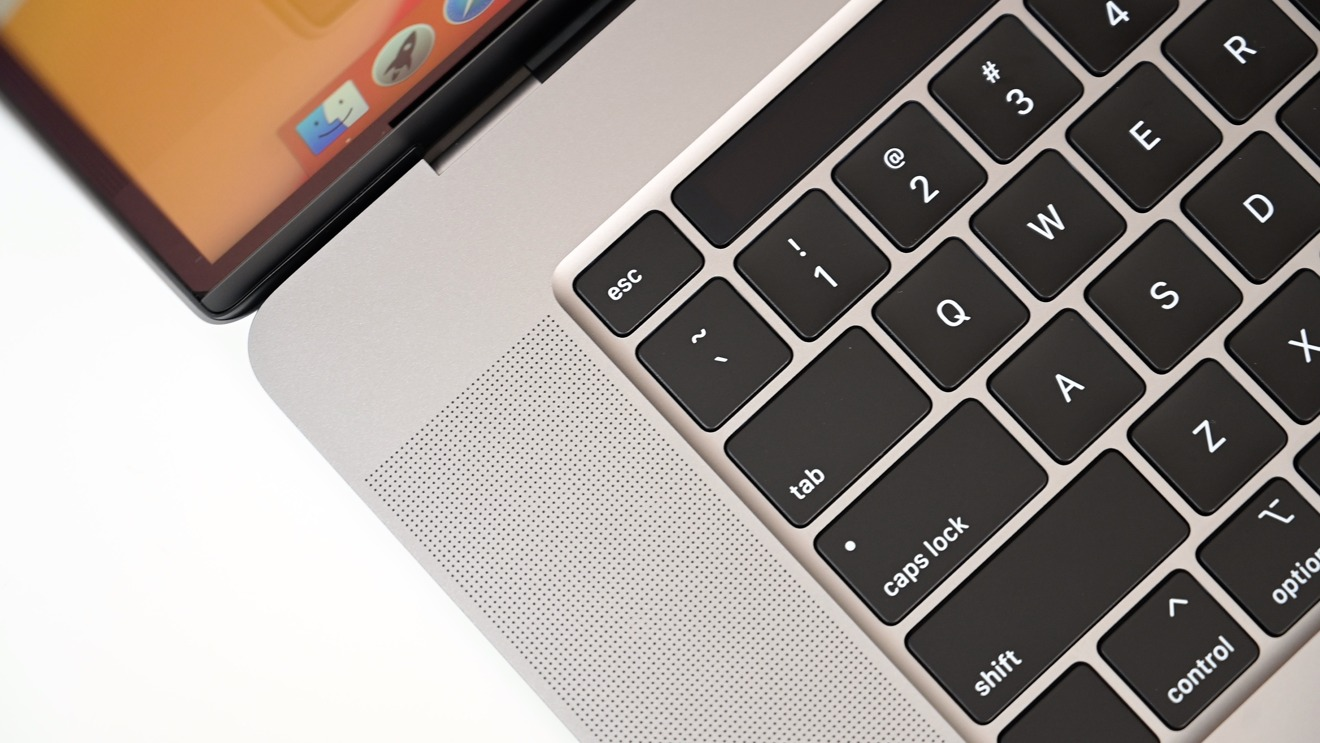 The updated keyboard includes a physical escape key