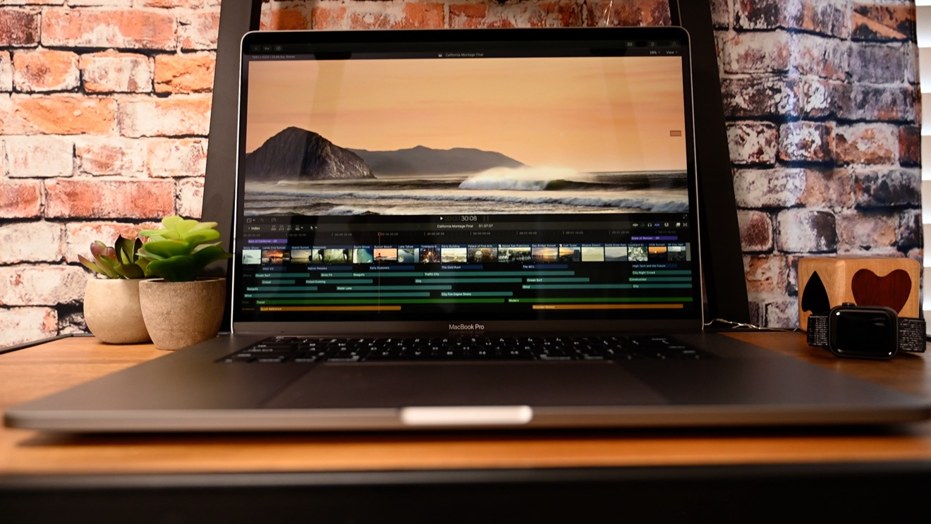 Using Final Cut Pro X on the new MacBook Pro