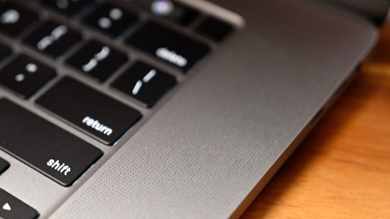 There are six speakers in the new MacBook Pro
