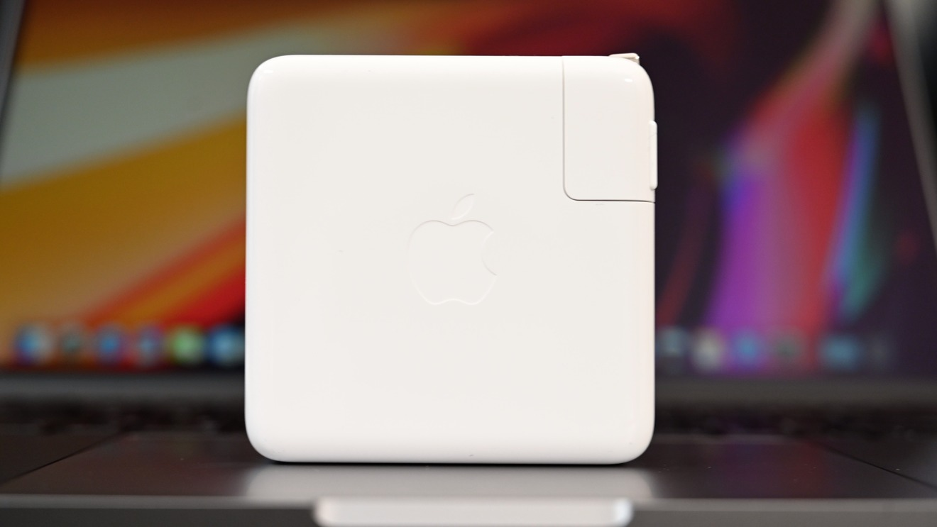 The 96W USB-C power adapter