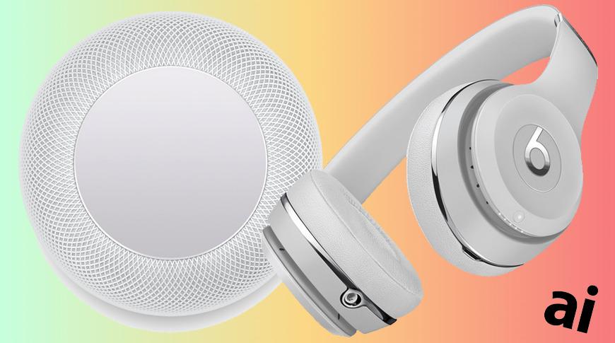 Apple HomePod and Beats headphones deals