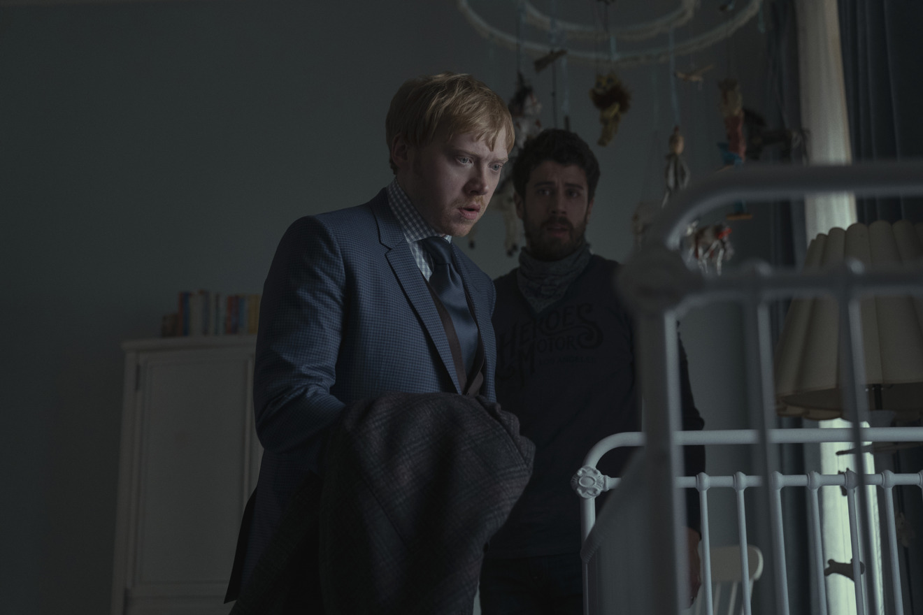 Rupert Grint in Servant (courtesy of Apple)