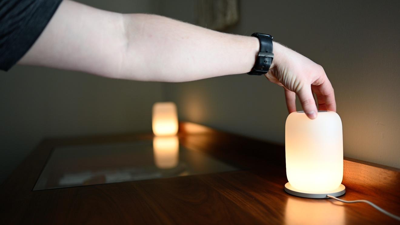 Casper Glow bedside lamps