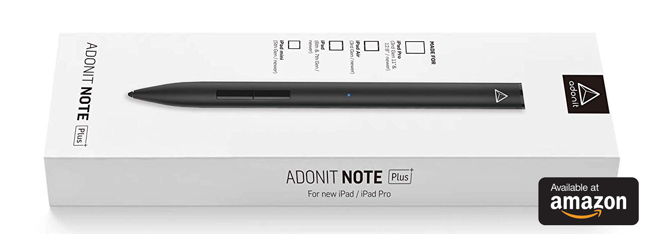 Adonit Note Plus on sale at Amazon