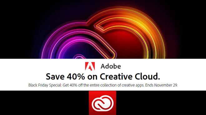 Adobe Black Friday deal
