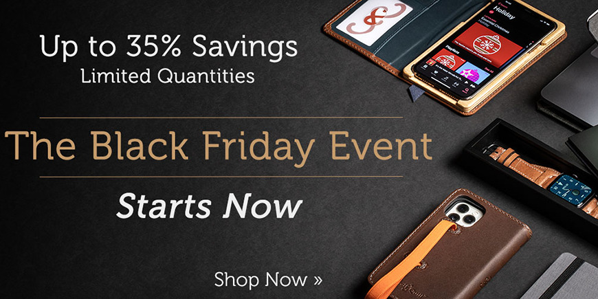 Black Friday Deals Are Live At Pad Quill Save Up To 35 On Apple Watch Ipad Iphone Accessories Appleinsider