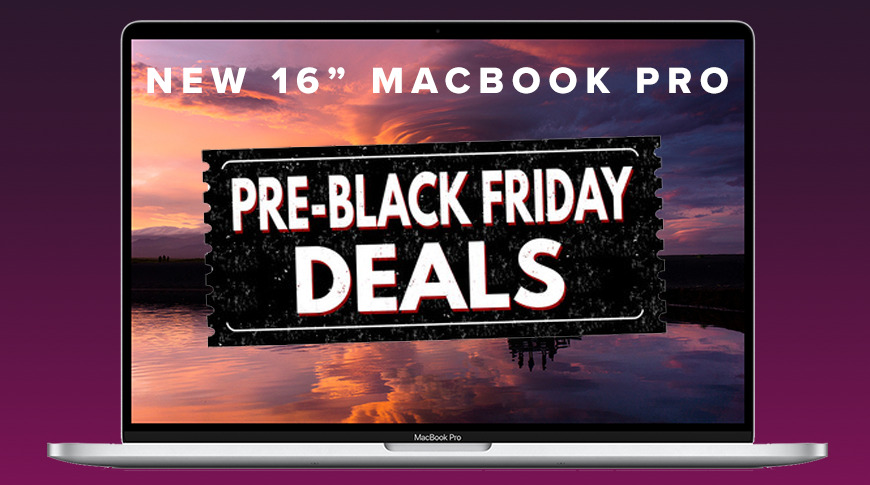 Black Friday Apple deals: New price drops on in-stock 16-inch MacBook Pros; AirPods Pro on sale