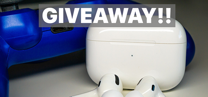 Flash Giveaway: Enter to win a free pair of Apple AirPods Pro