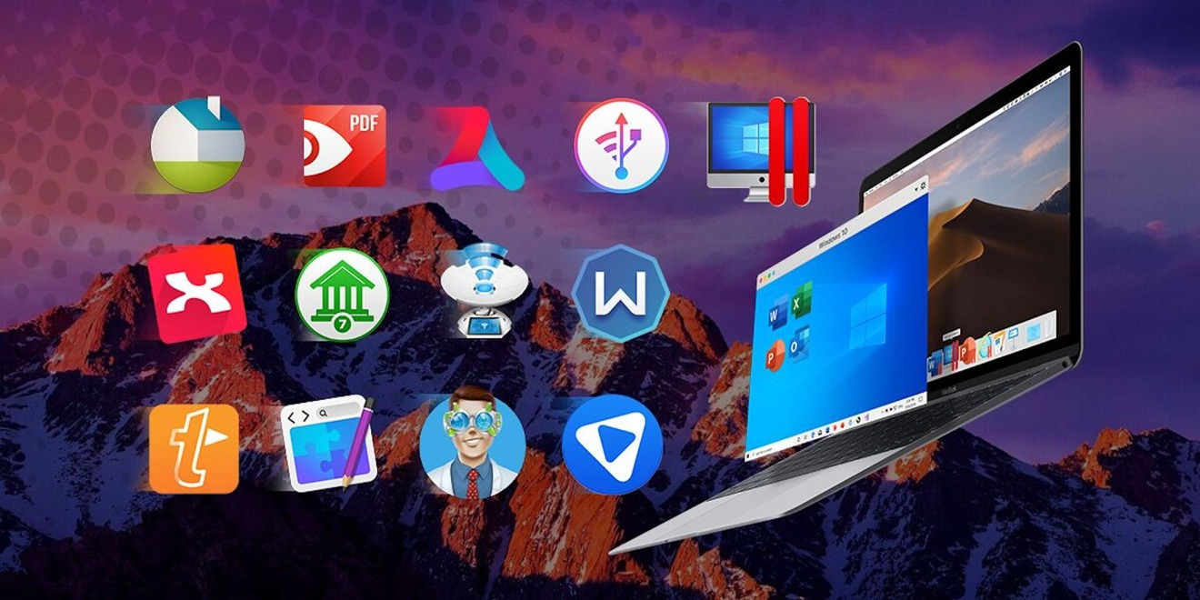 It's back: 2020 Mac app bundle with Parallels Desktop 15 plus 12 more apps just $48