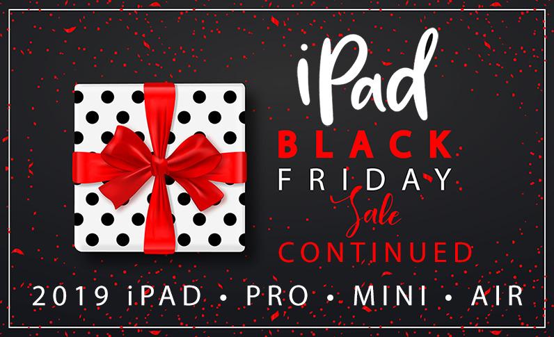 Black Friday weekend iPad deals