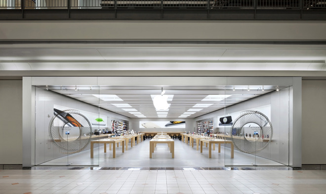 The Marlborough, Mass., Apple Store