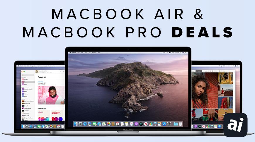 Cyber Monday MacBook Air and MacBook Pro deals
