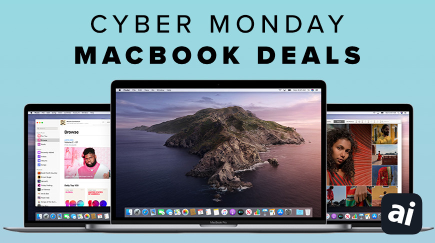 MacBook Air and Pro Cyber Monday deals
