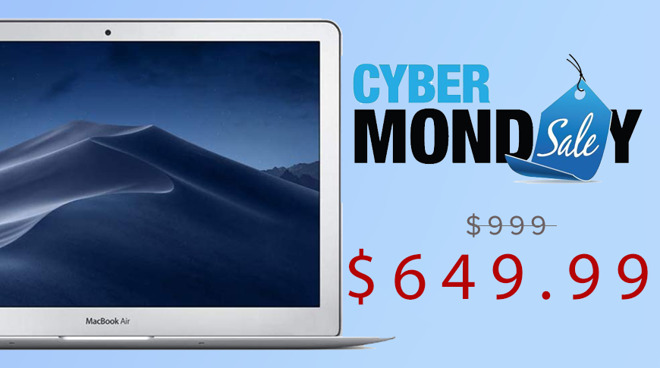 It S Back Apple S Macbook Air Returns To Amazon For 649 This Cyber Monday Appleinsider