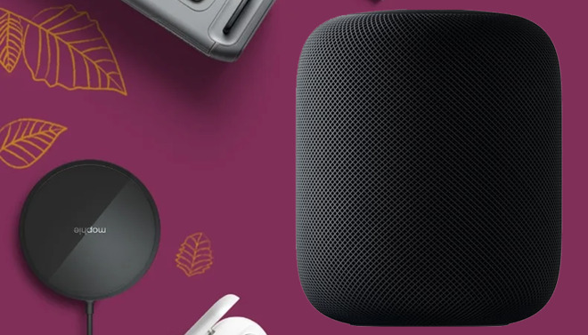 Apple HomePod and iPhone accessories
