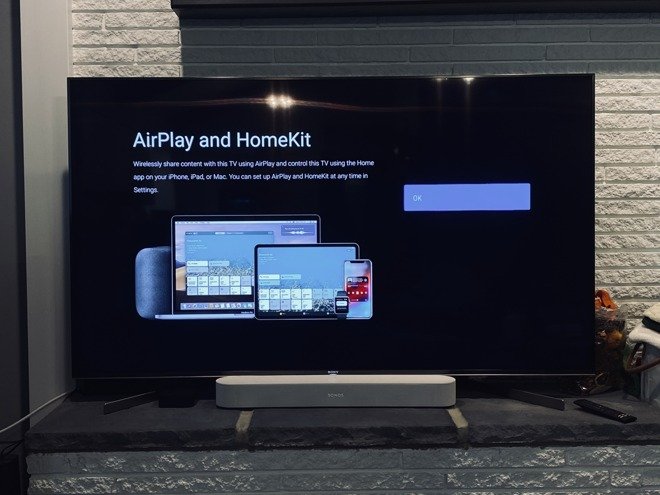 HomeKit and AirPlay 2 support comes to select Sony Smart TVs