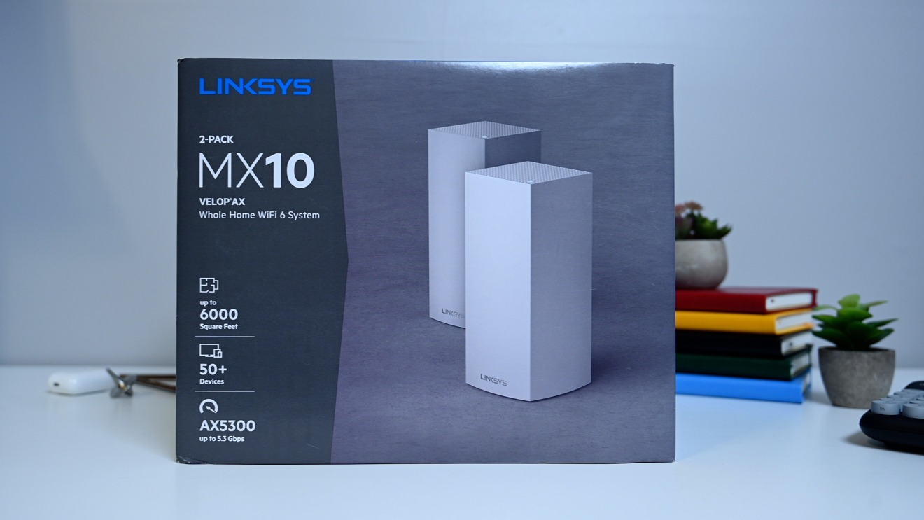 Linksys MX10 Velop AX mesh router