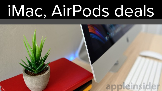 Apple AirPods iMacs and iPhones also on sale